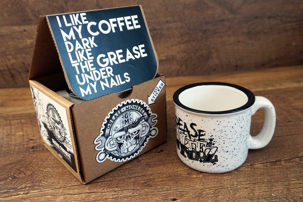 Image of Grease Monkeez Campfire Coffee Mug