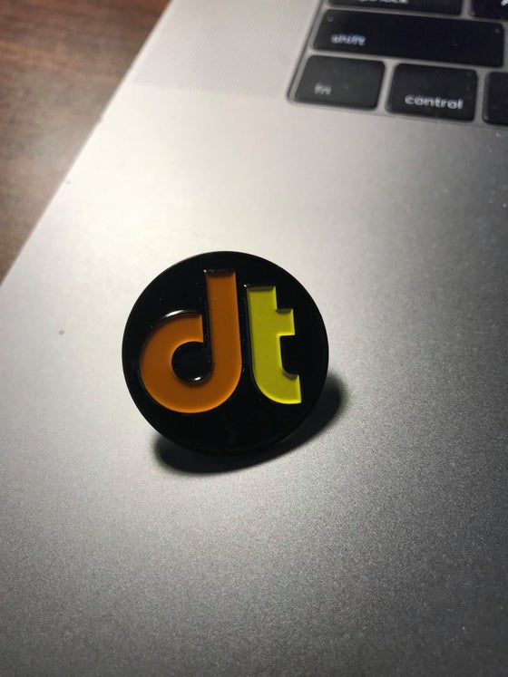 Image of drumtacs Enamel Pin