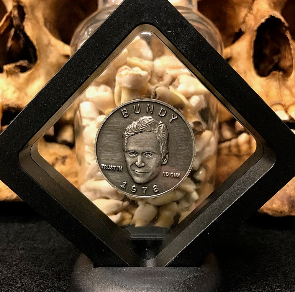 Image of Serial Killer Theodore Bundy Coin