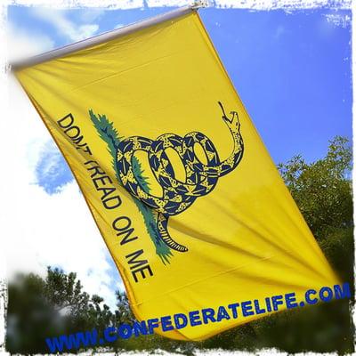 "Image of Gadsden ""Don't Tread on Me 3'x5' Flag"