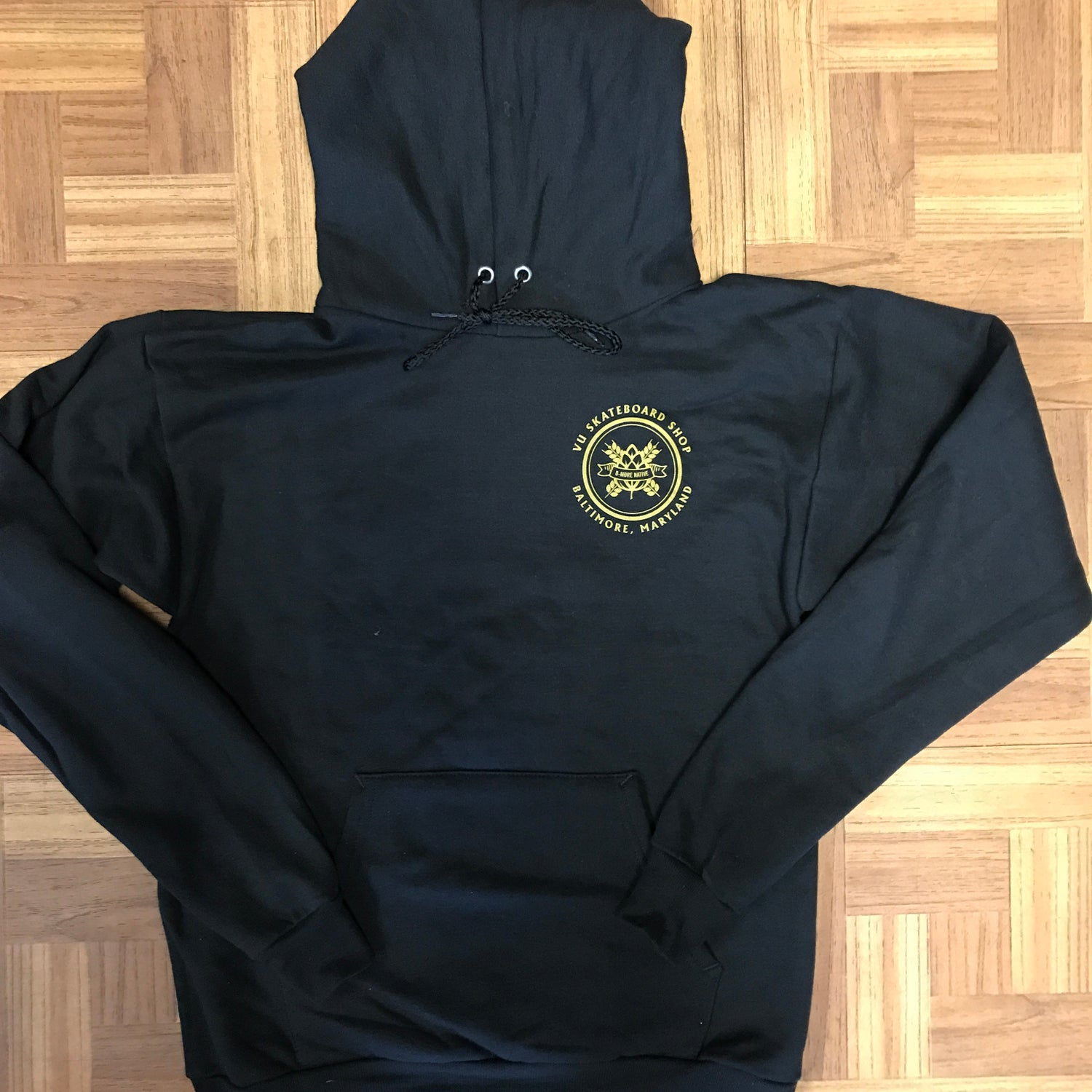 "Image of VU ""FIGHTER""  HOODIE"