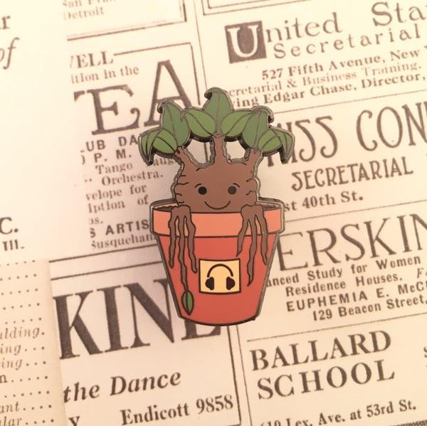 Image of Mandrake Sprout Pin