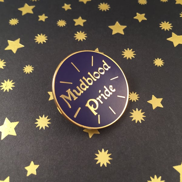 Image of Mudblood Pride Pin