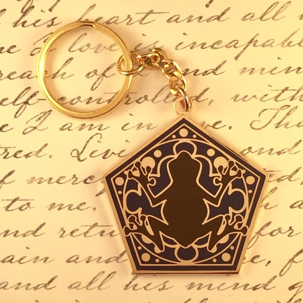Image of Hopping Chocolate Keychain