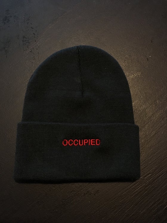 Image of OCCUPIED BEANIE