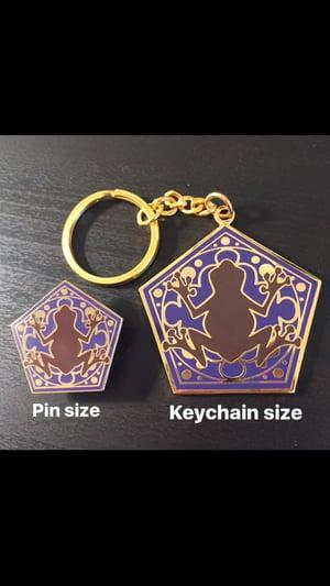 Image of Hopping Chocolate Keychain