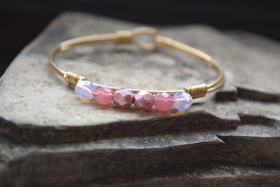Image of The Blushed Clasp Bangle