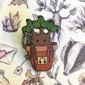 Image of Mandrake Sprout Pin