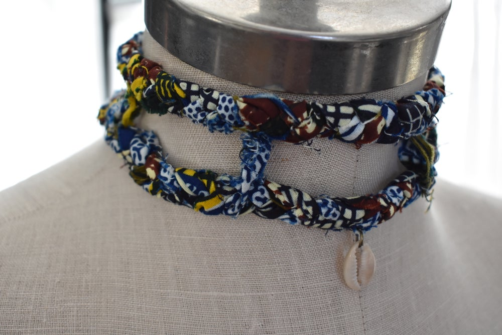 Image of Caged Ankara Choker