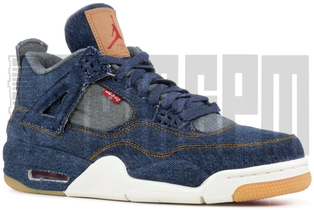 Image of Nike AIR JORDAN 4 RETRO LEVI'S NRG
