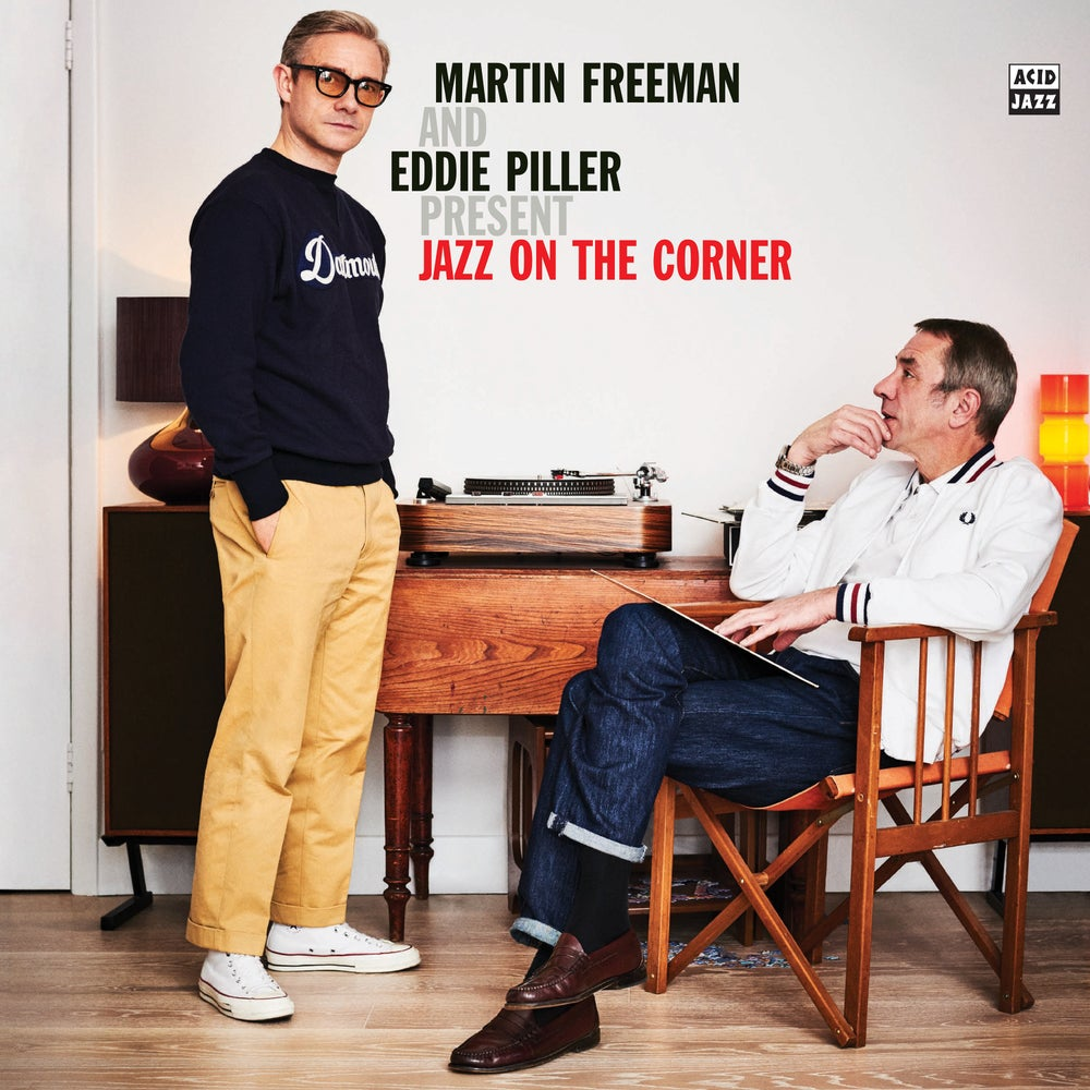Image of Martin Freeman and Eddie Piller present Jazz On The Corner (Double LP)