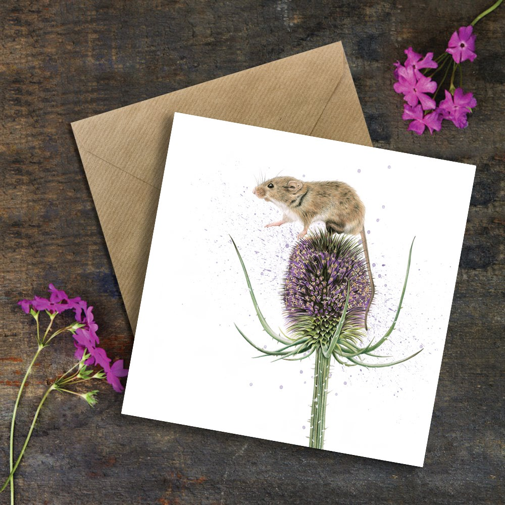 "Image of ""One Small Step for Mice"" Greeting Card"