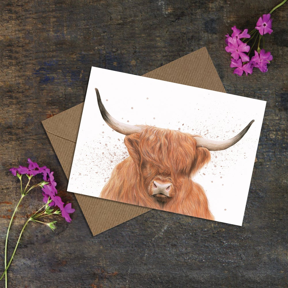 "Image of ""Highlander"" Greeting Card"