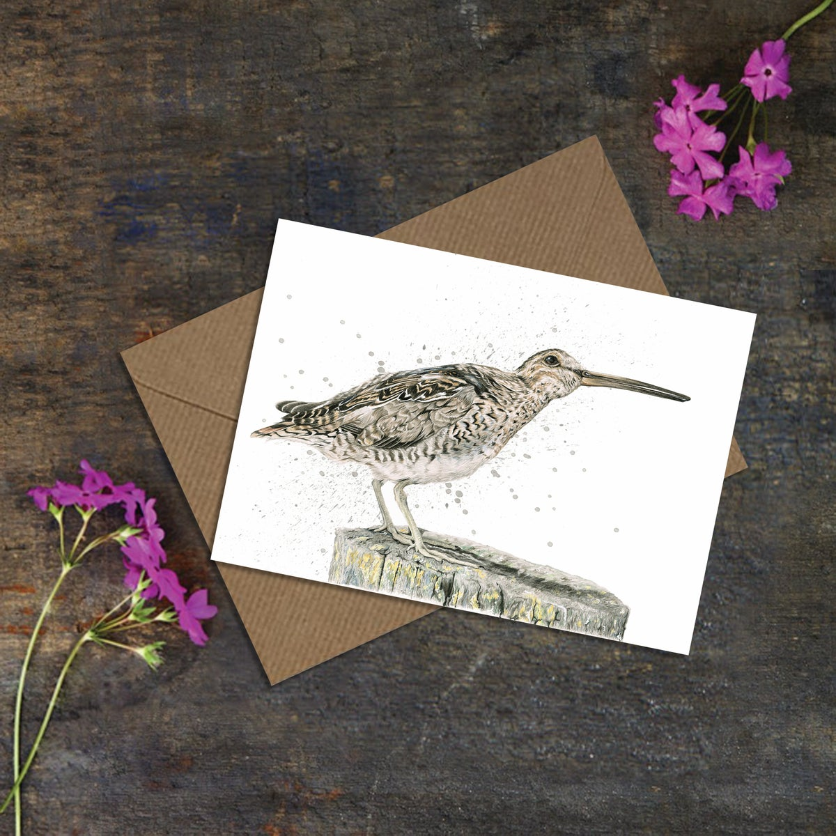 "Image of ""Snipe"" Greeting Card"