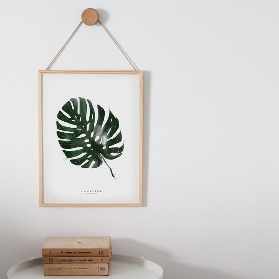 Image of MONSTERA ART PRINT