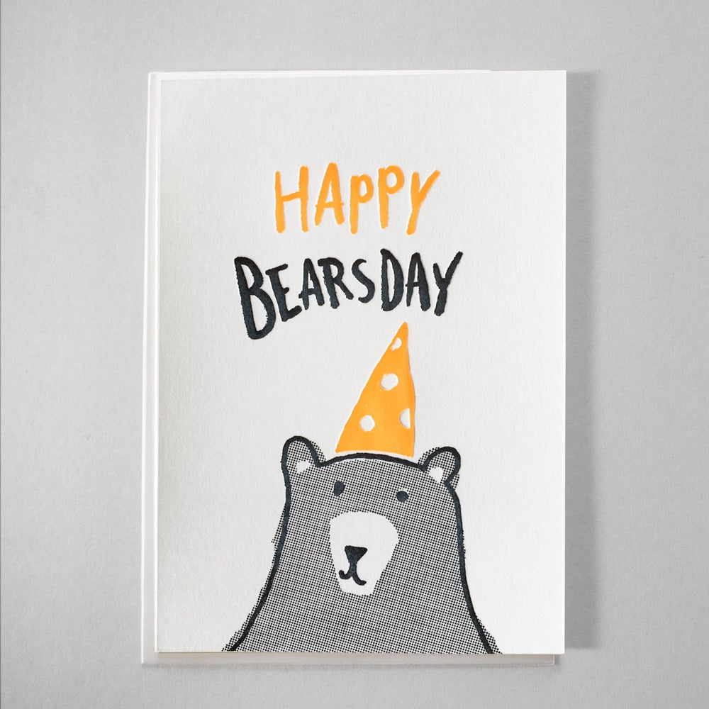 Image of Happy Bearsday - NEON