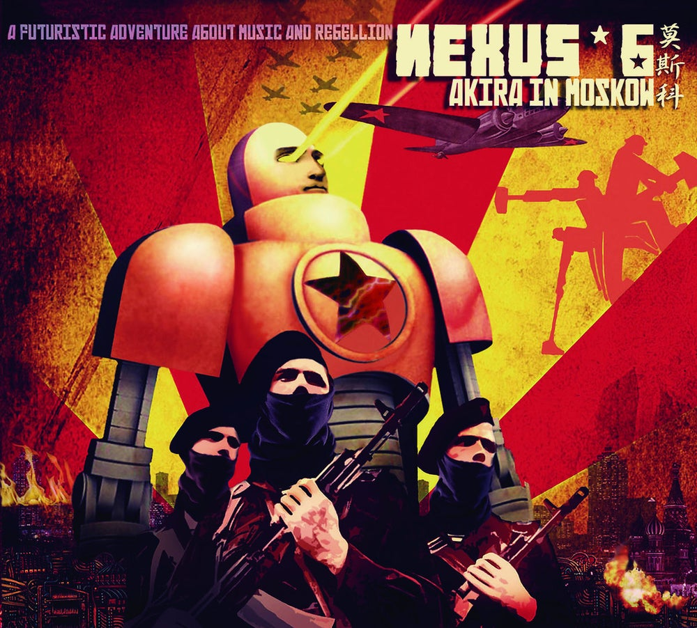 "Image of NEXUS 6 - ""Akira in Moscow"". Album. Digipack edition"