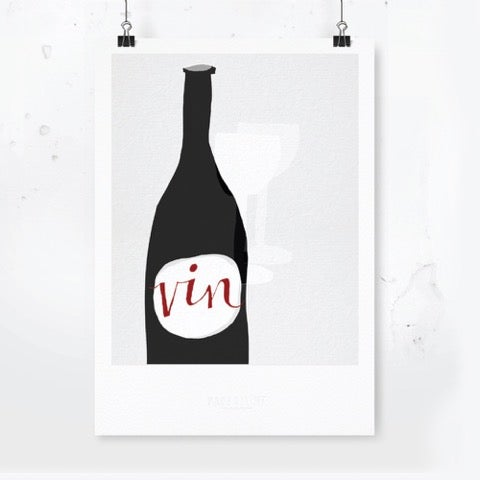 Image of Vin - Art Print / Archival Quality