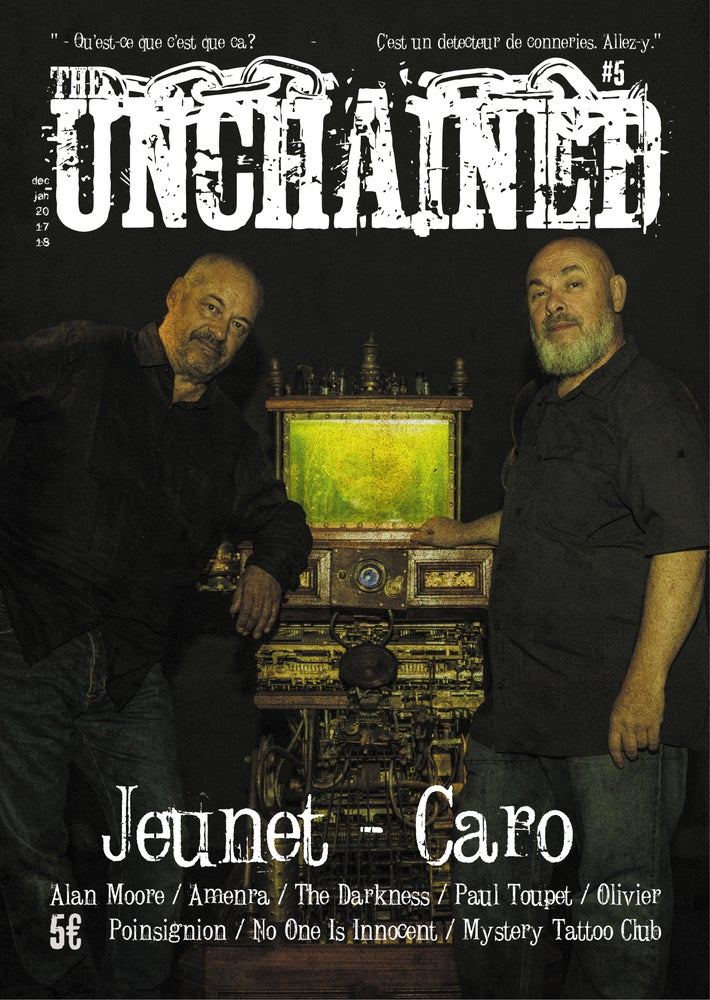 Image of THE UNCHAINED MAGAZINE #5