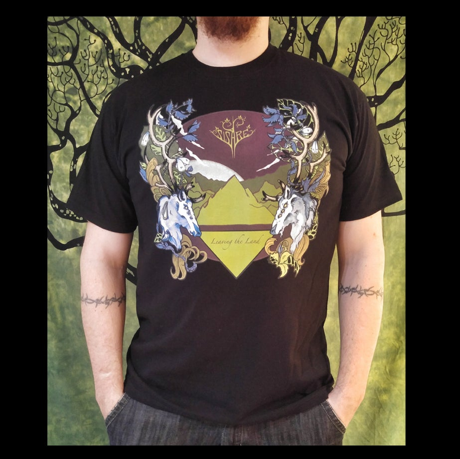 Image of Leaving the Land t-shirt