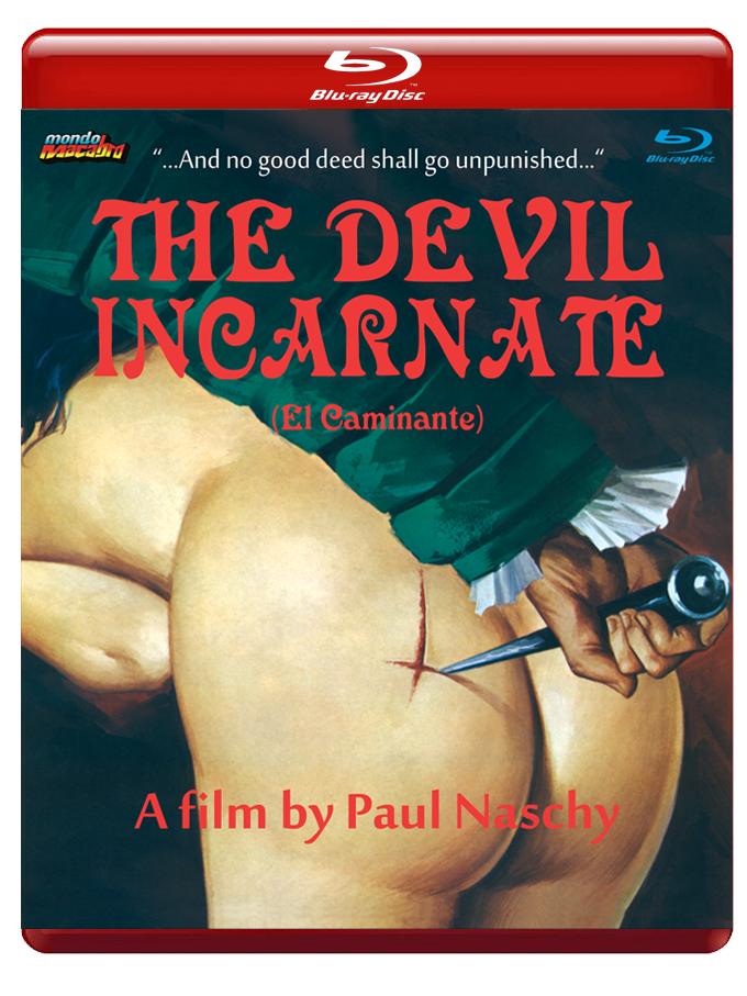 Image of THE DEVIL INCARNATE - Red Case Limited Edition Blu-ray
