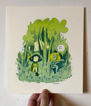 Image of This Way Prints -Green and Pink Versions