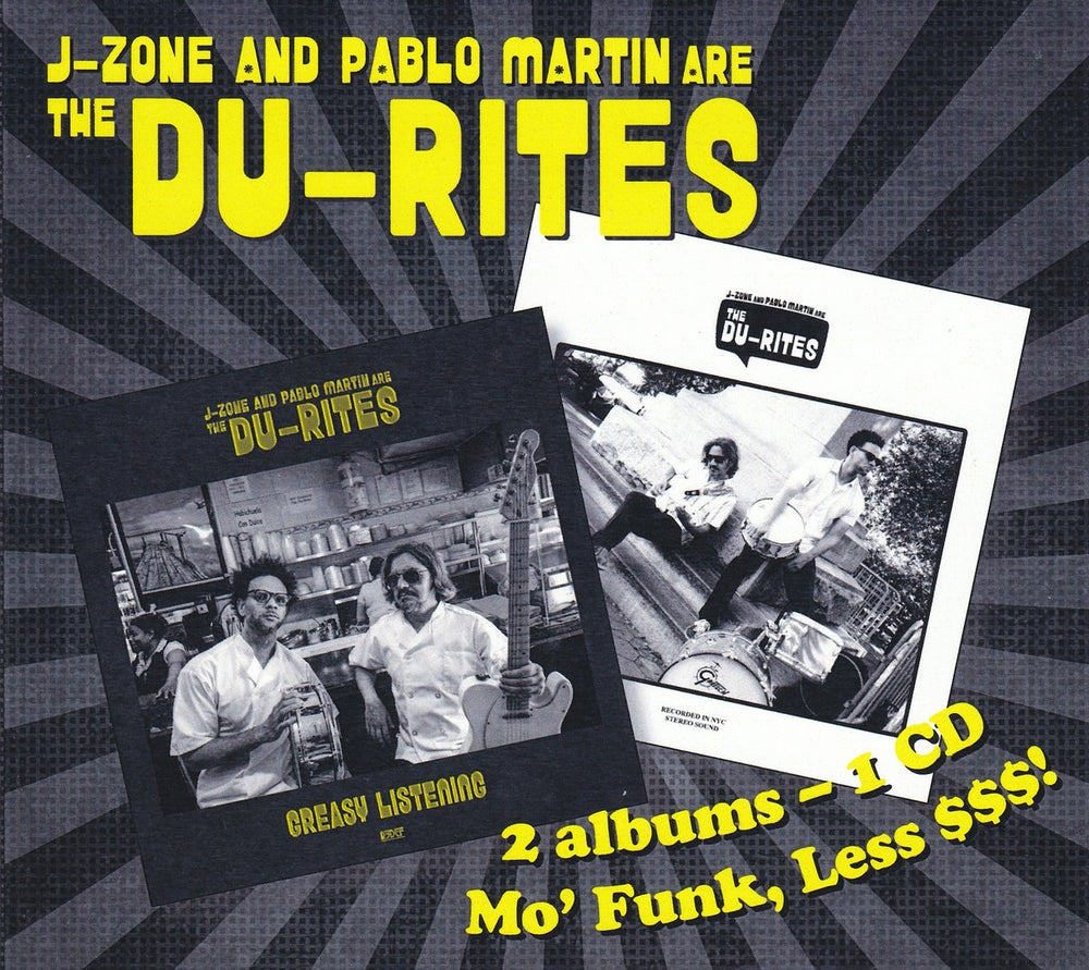 Image of J-Zone and Pablo Martin are the DU-Rites - CD