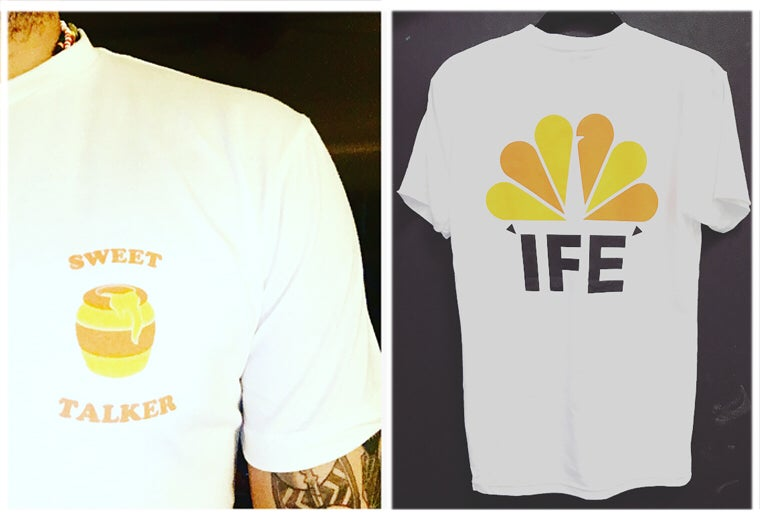 Image of ÌFÉ | SWEET TALK SHIRT | Discos Ifá 2018