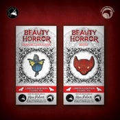 Image of The Beauty of Horror: Limited Edition Ghouliana and Batty enamel pins! MONSTER FLASH SALE!
