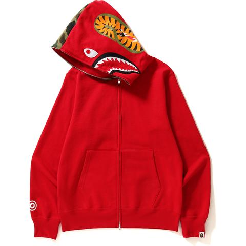 Image of SHARK FULL ZIP HOODIE MENS