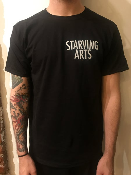 Image of Logo Pocket Print T-Shirt