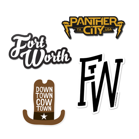 Image of Fort Worth Sticker Pack
