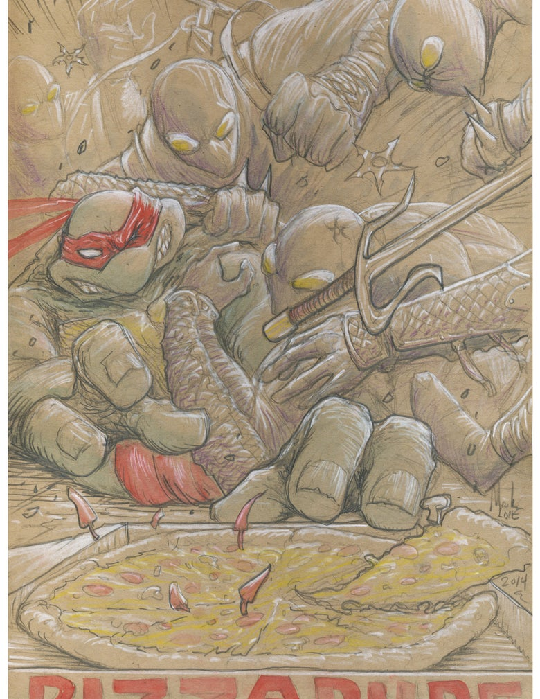 Image of Raph pizza battle
