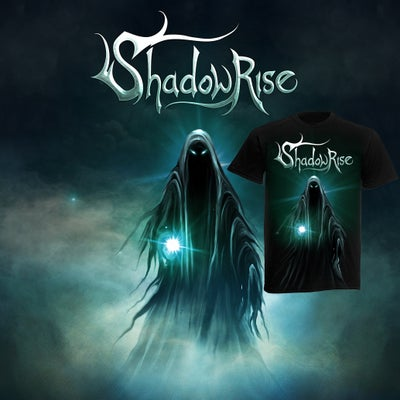 "Image of COMBO: ""Shadowrise"" debut album + shirt ORDER NOW!"