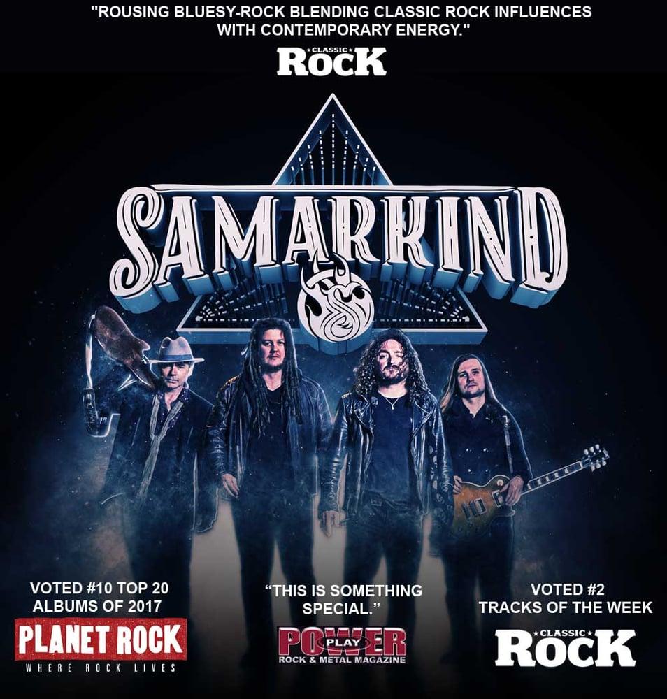 Image of Samarkind debut album (Signed CD)