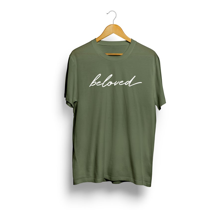 Image of Beloved Tee - Olive