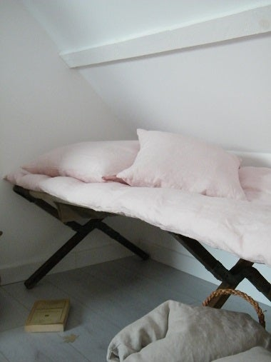 Image of Bout de lit en lin