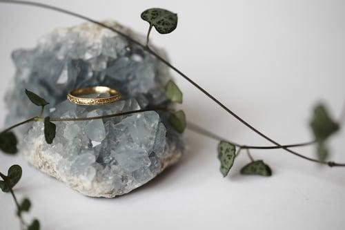 Image of *NEW* 18ct gold 2.5mm 'Primavera' ring