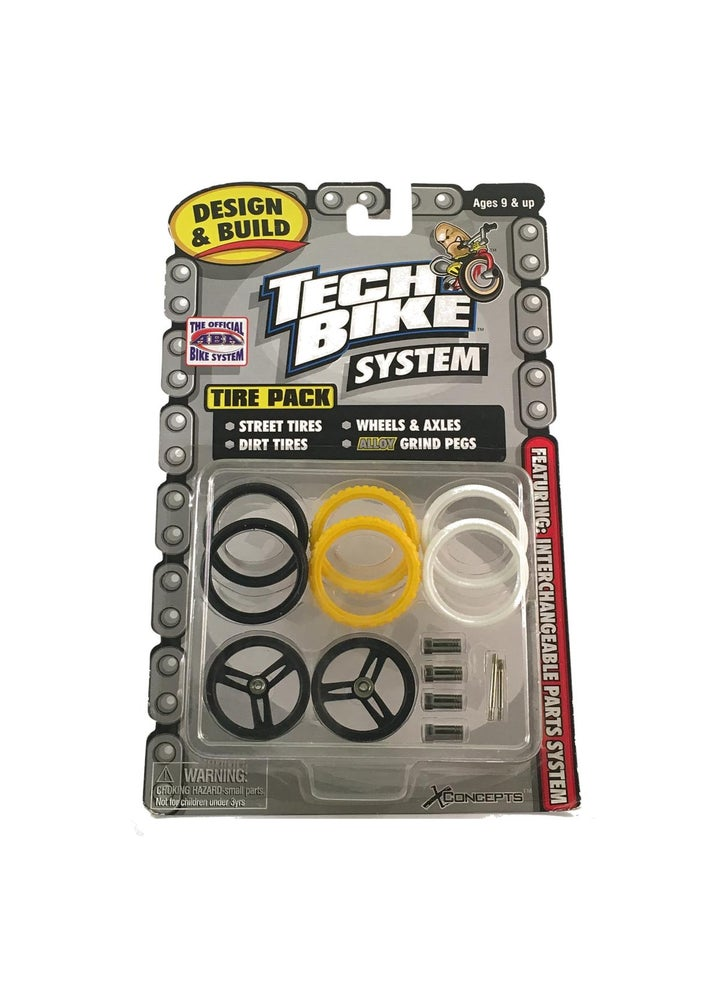 Image of Tech Bike / Flick Trix - Pack 6 - NOS Rare 2000