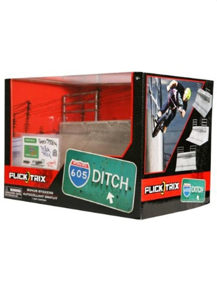 Image of Flick Trix Ditch Flat Bank Ramp