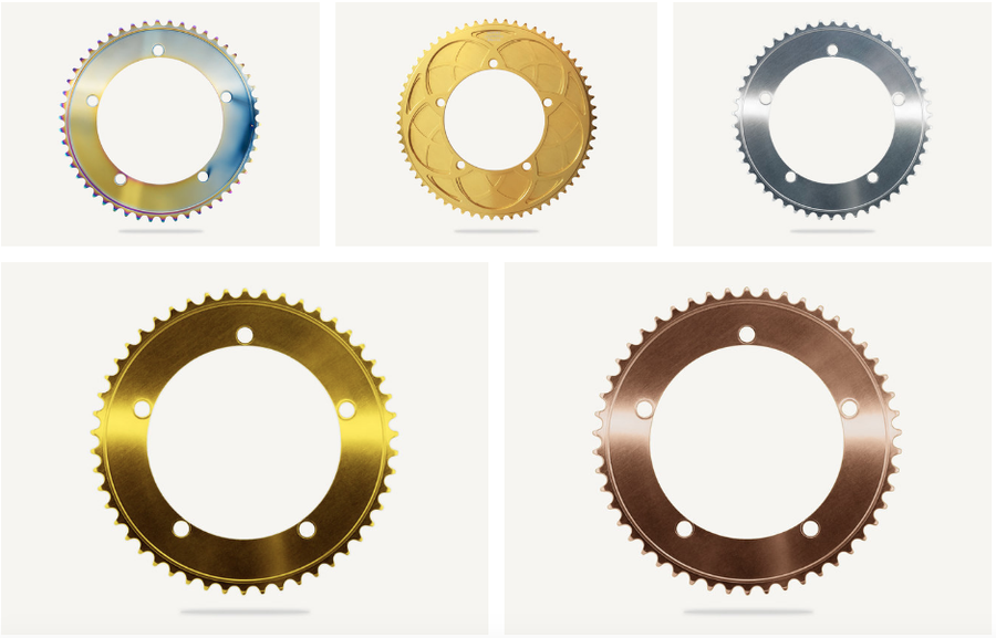 Image of Bespoke Stealth Track Chainrings - different sizes, colors, designs