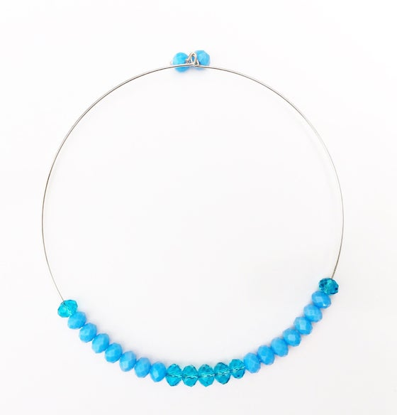 Image of Crystal Wire Choker