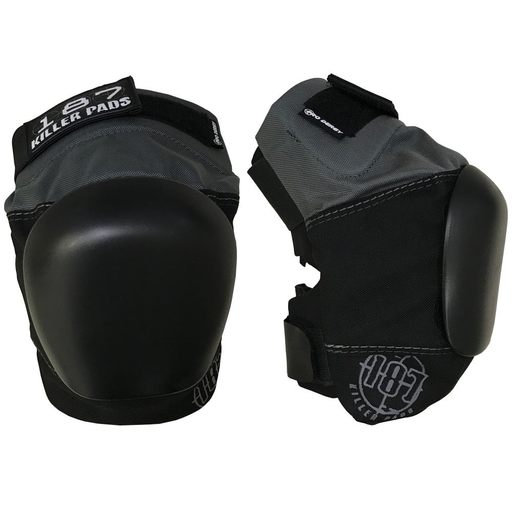 Image of PRO DERBY KNEE PAD (grey-black)