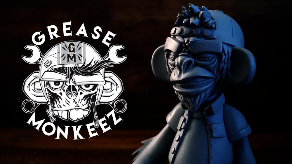 Image of Grease Monkeez - Blank Customizable Art Toy