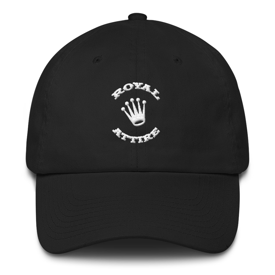 Image of Black and White Dad Hat