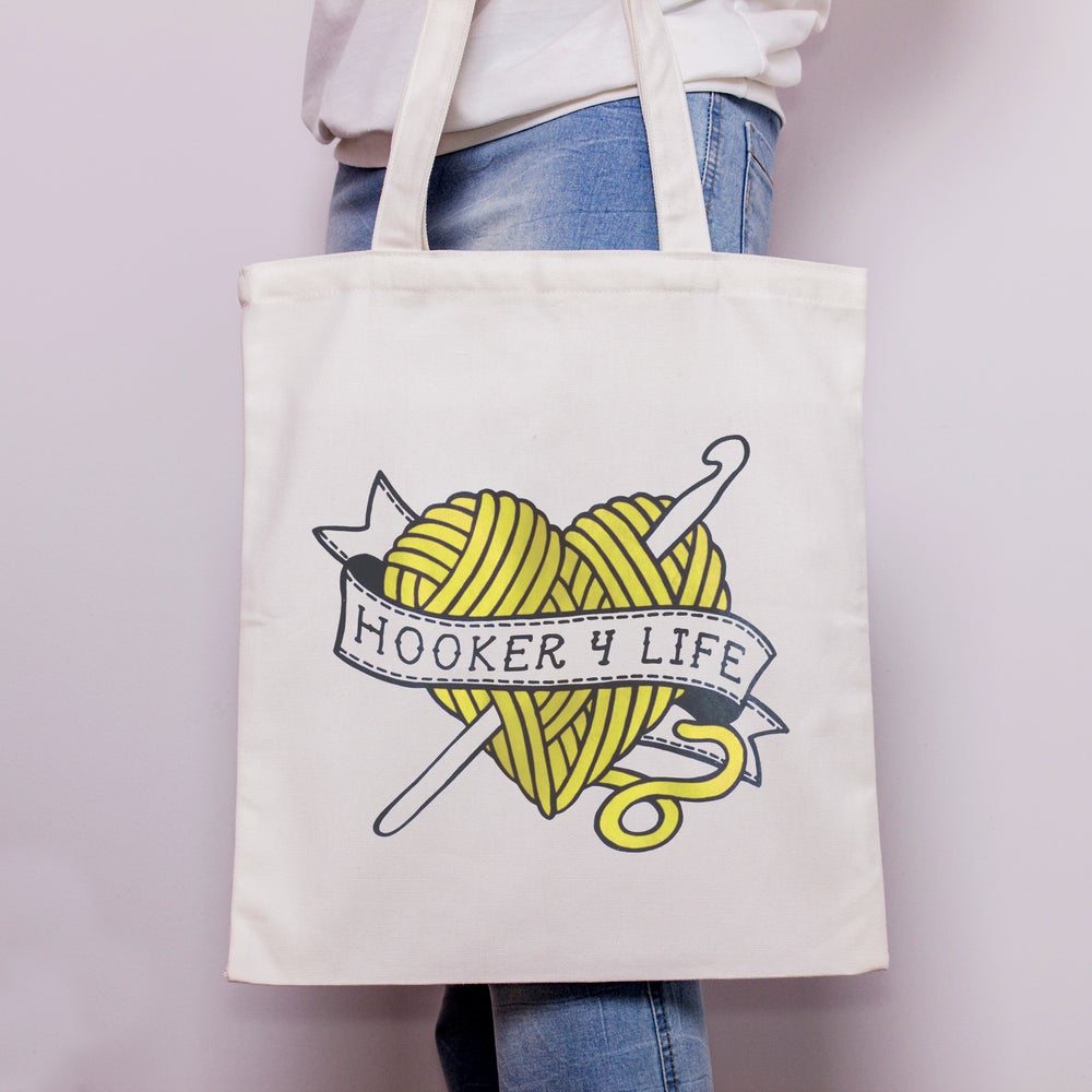 Image of Hooker 4 Life - Tote Bag