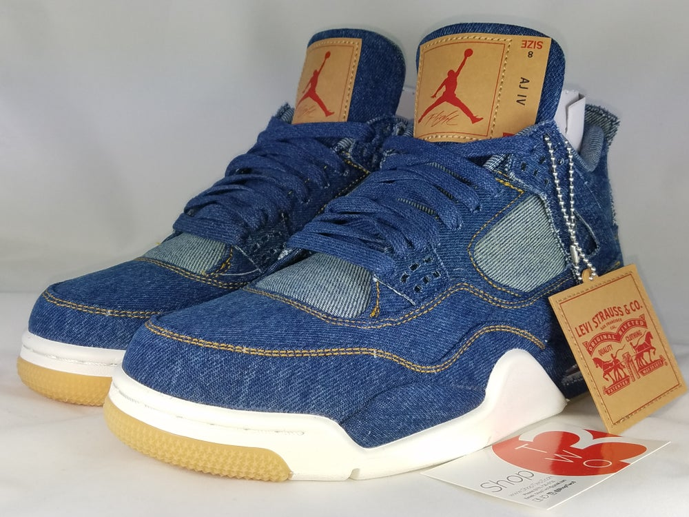 Image of Air Jordan Retro 4 Levis