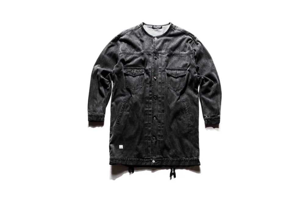 Image of RIOTING DENIM COAT