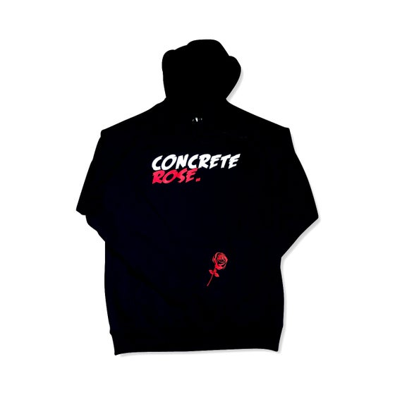 Image of Concrete Rose Pullover Hoodie