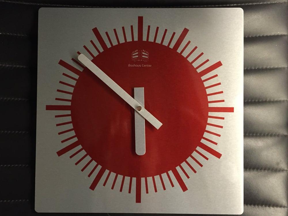 Image of Bauhaus Center Wall Clock